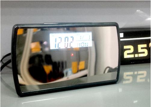 Kamera ukryta w zegarze T5000-720